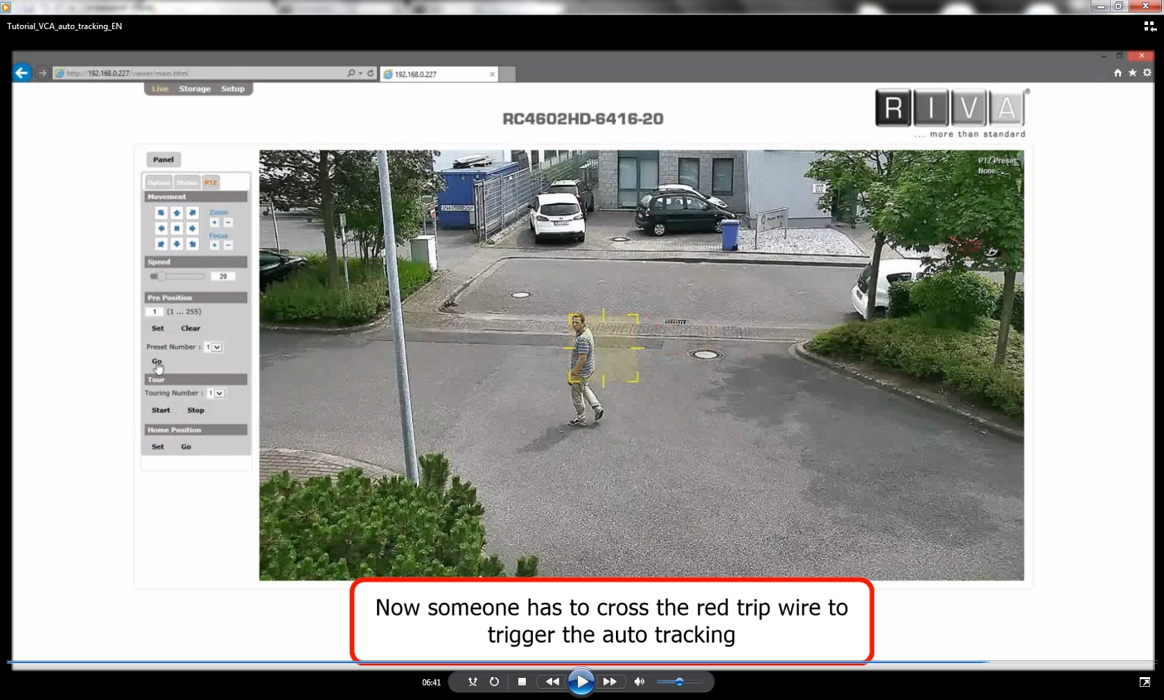 Auto Tracking eng